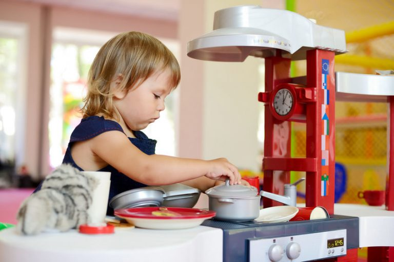 juguete de cocina niña