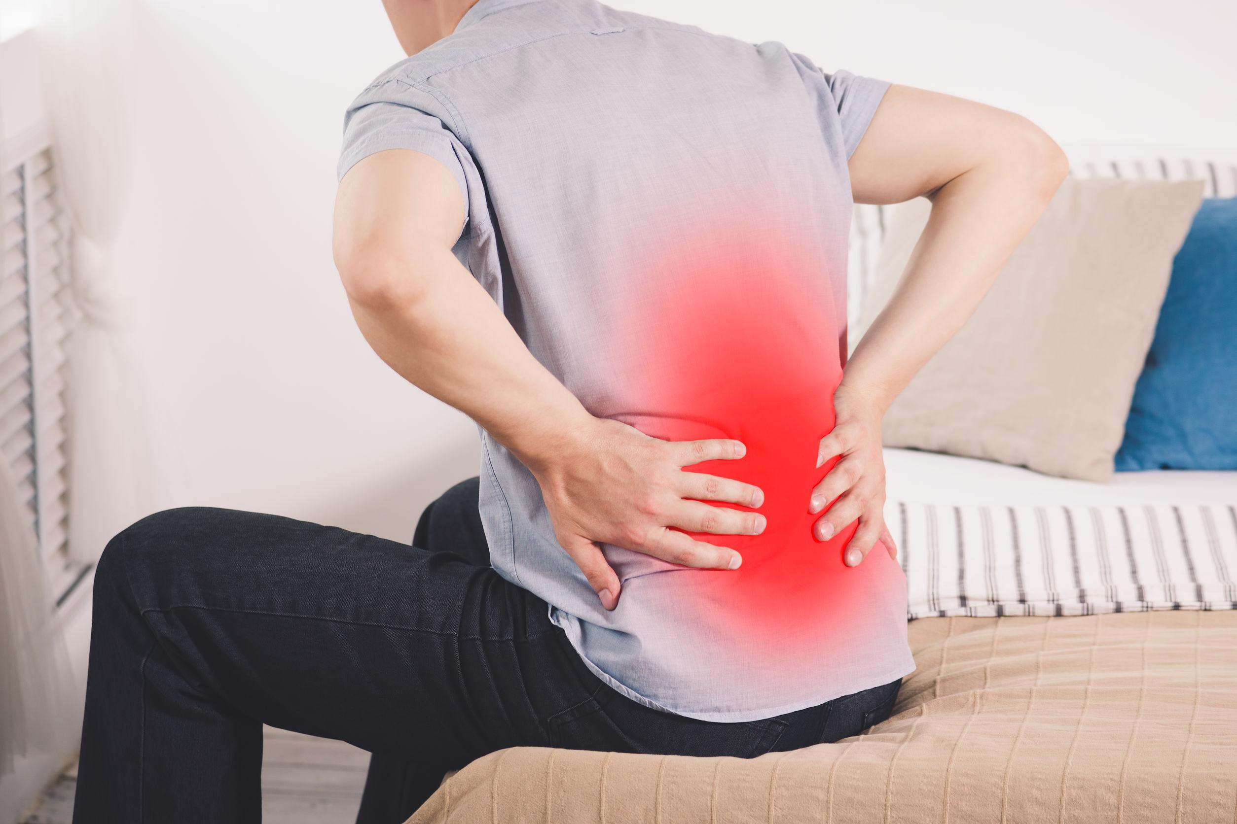 dolor en espalda baja