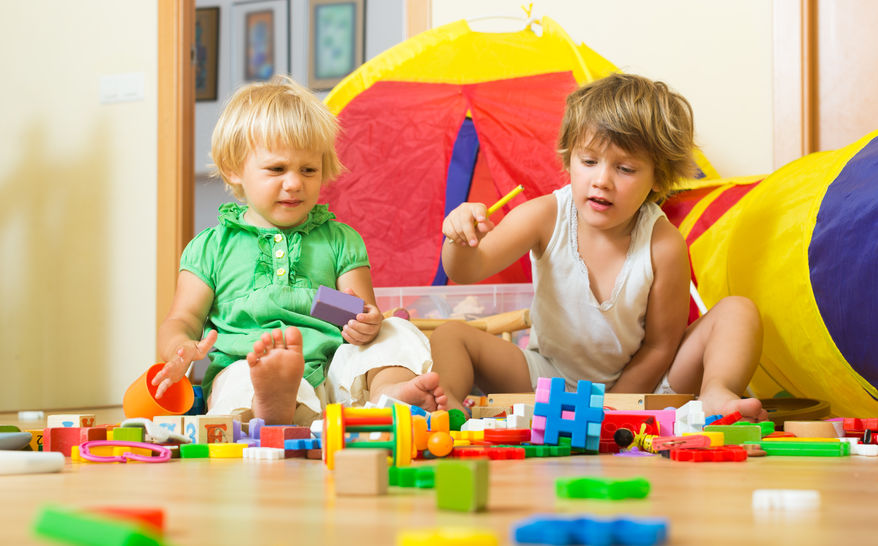 niños juguando