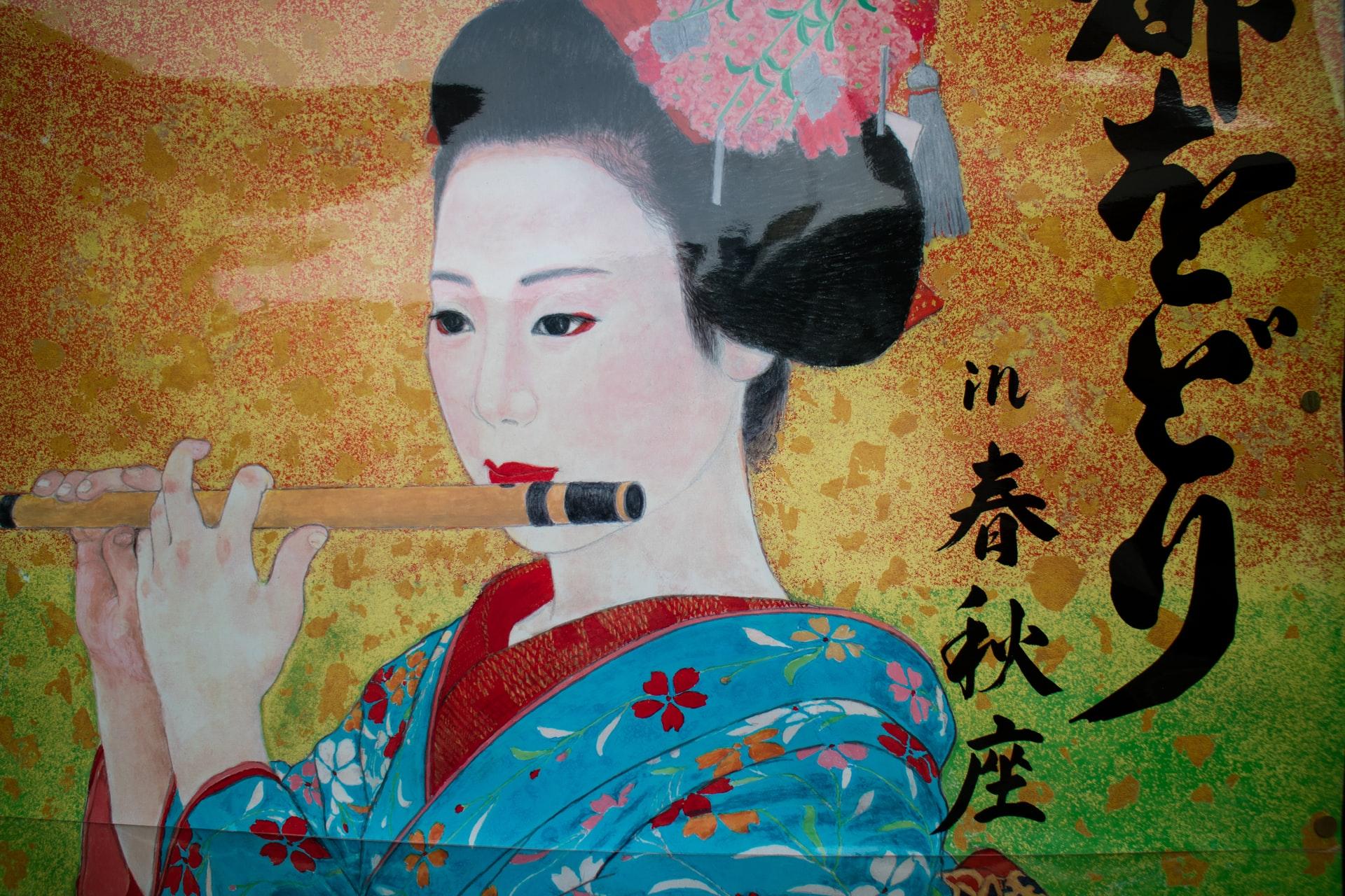 pintura de oriente antigua