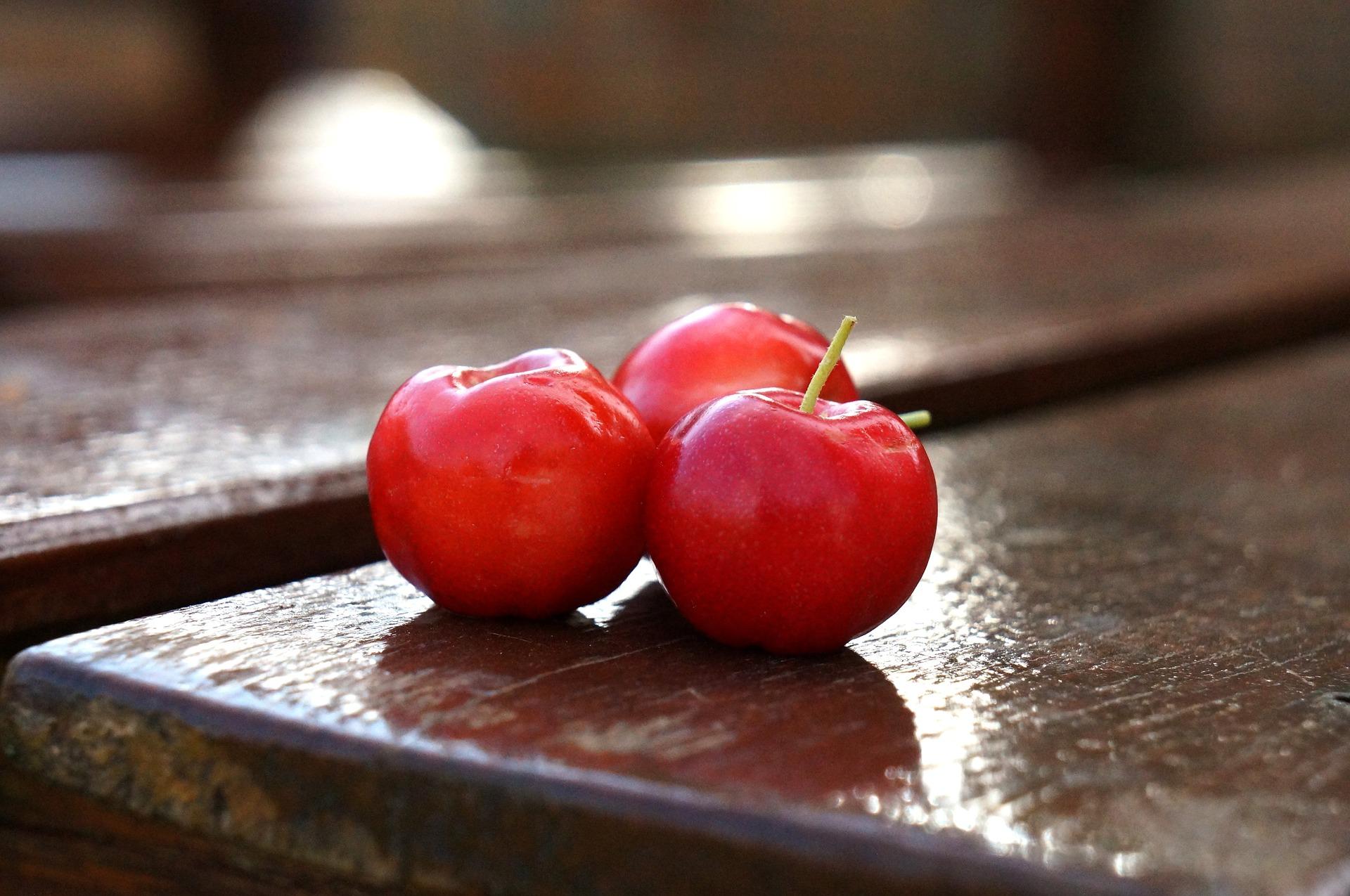 frutos de acerola