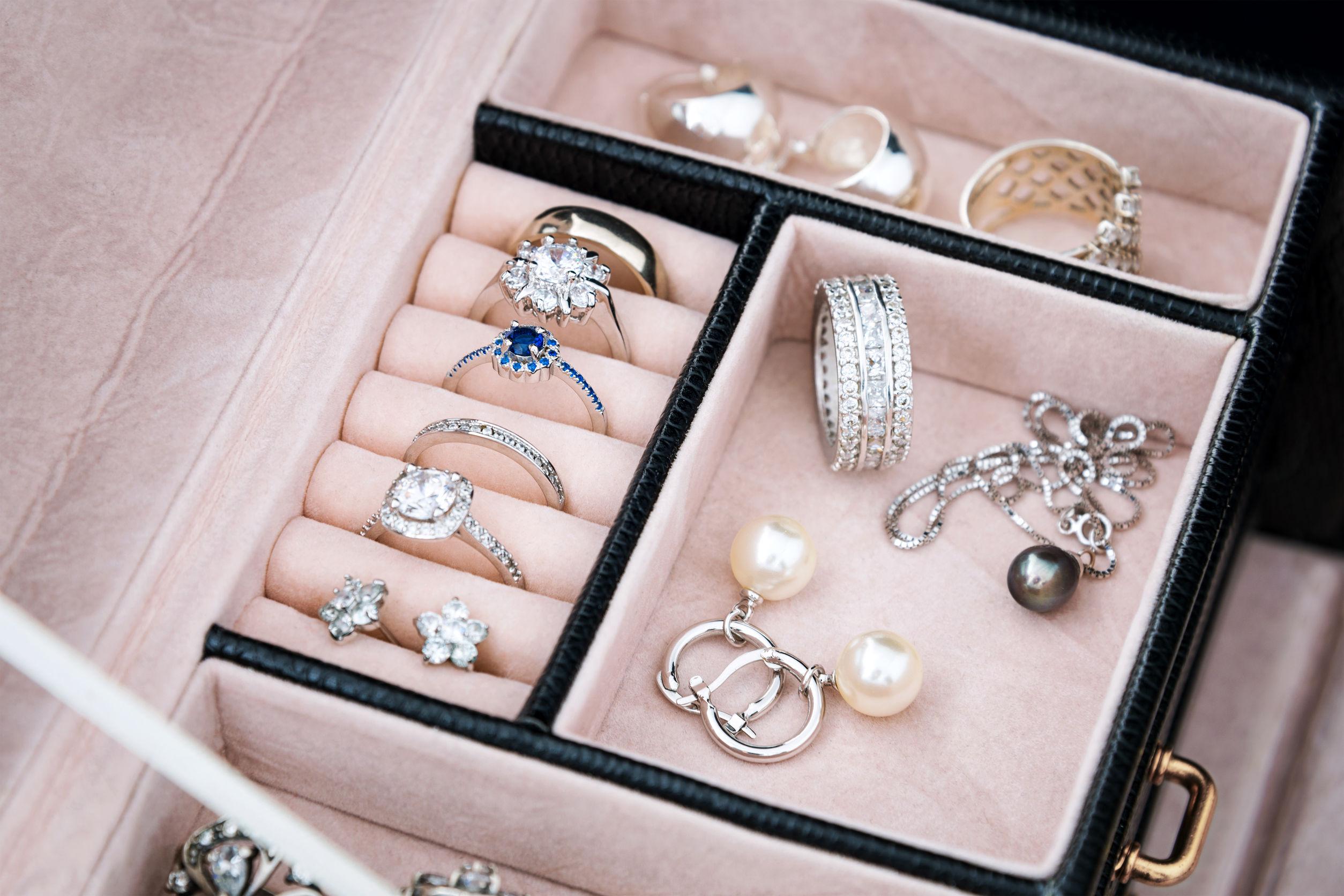 ¿Cómo organizar mis joyas?