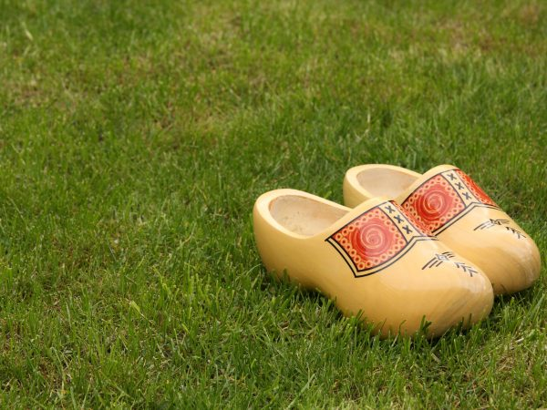 141585228 – new wooden shoes from holland