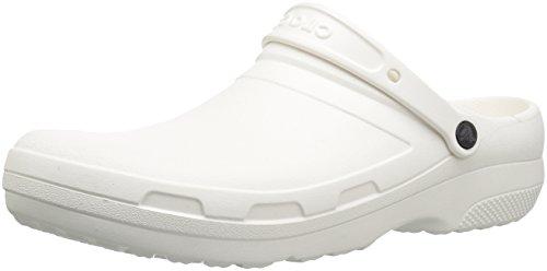 Crocs Specialist II Clog Unisex Adulta Zoccoli, Blanco (White), 41/42 EU